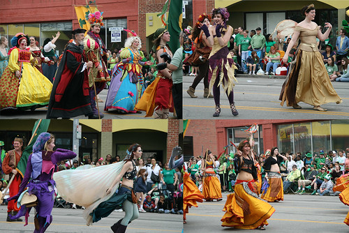 Ren Fest at Kansas City St. Patty's Day Parade