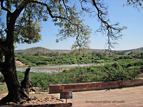 Malprabha river view from Virupaksha temple