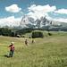 Wandern Seiser Alm / Hiking