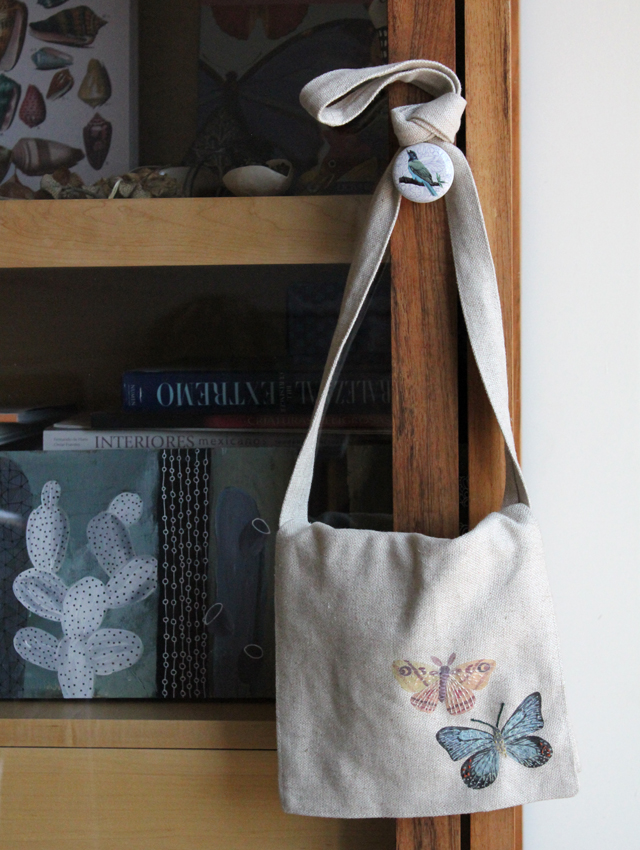 Butterfly & Moth field bag