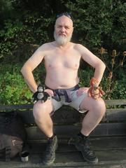 IMG_0985 (griffpops_deptford) Tags: cobham shirtlessmen menwithbeards kentchurches