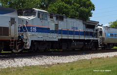 160531_03_AMTK515_98san (AgentADQ) Tags: amtrak passenger train silver meteor sanford florida railraod amtk 515