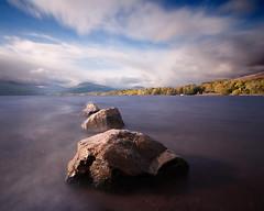 Rocks - Loch Lomond (BoboftheGlen) Tags: park mountains west water forest way bay rocks elizabeth queen east highland national shore loch lomond trossachs stirlingshire balmaha the4elements milarrochy