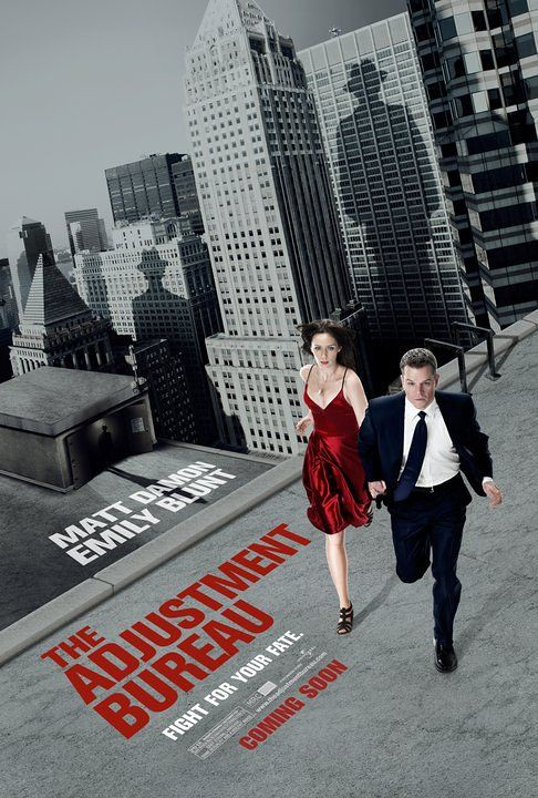 The Adjustment Bureau 2011 movie poster 2