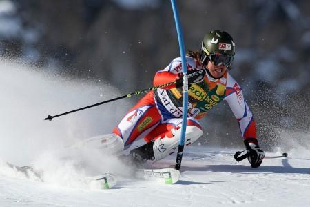 Nedělní slalom v Kitzbühelu: Bank přišel o bednu v kombinaci