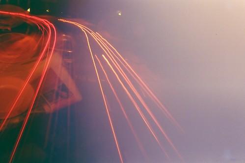 Redscale Light Trail + Pinggan