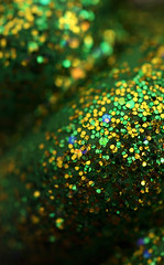 Glitter (shadamai) Tags: blue abstract green yellow glitter shiny shapes hexagons sparkly flickrchallengegroup