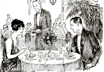 At the Table The Bad Date Eichler Pop Sci Apr 1923