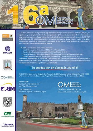 Convocatoria OMI 2011