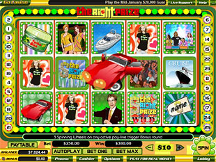 The Right Prize slot game online review