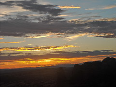Sunset at Arches (MickeyS64) Tags: sunset sky clouds utah nationalpark amazing arches
