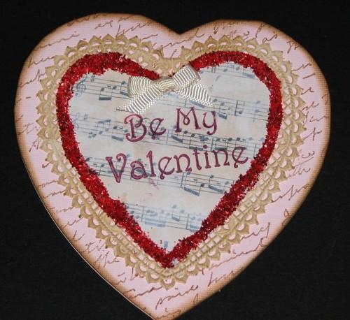 Vintage Valentine #1 - Vintage Sheet Music 020