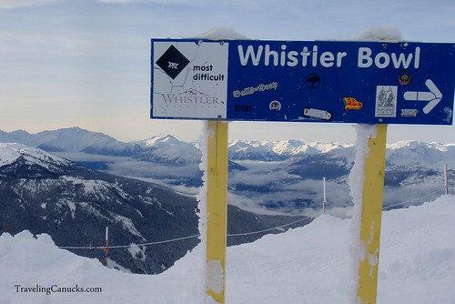 Whistler Bowl in Whisler, British Columbia