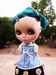 Licca bon-bon flower dress.