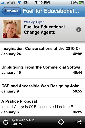 Fuel for Educational Change Agents on Podcaster