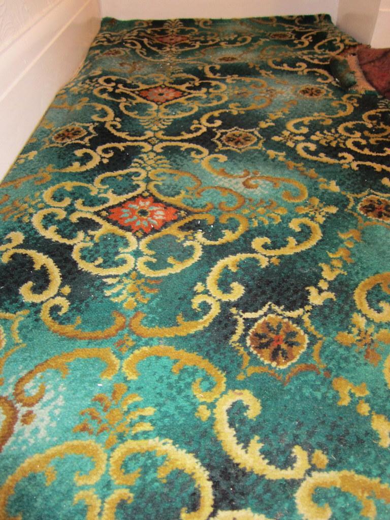 Good Bye Green Carpet!