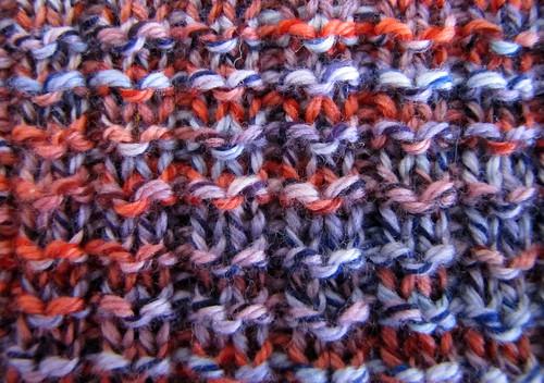 Pique rib stitch