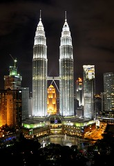 Petronas Towers (Clearvisions) Tags: petronas towers twin special andromeda invitation only kuala 50 klcc lumpur mygearandmediamond tplringexcellence
