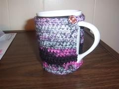 pretty cocoa mug cozy