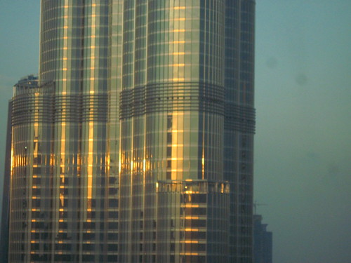 Golden Light on The Burj