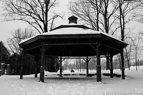 Waterloo park gazebo