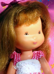 Tiny Holly Hobbie Doll (dog.happy.art) Tags: vintage toy doll dolls small vinyl collection tiny collectible collecting hollyhobbie americangreetings