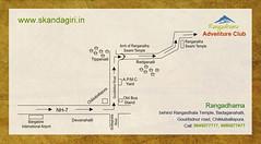 Rangadhama-map (Skandagiri.in) Tags: trekking homestay roadmap chikkaballapur rangadhama mapskandagiri