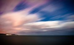 Ocean dream (Boris Kukushkin) Tags: ocean longexposure light sky france water night clouds stars rocks ночь свет небо вода fecamp скалы облака океан звезды франция фекам большаявыдержка