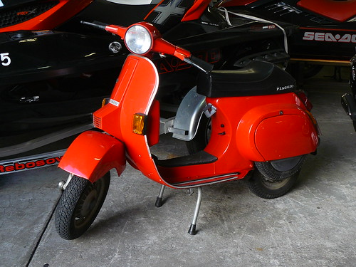 Vespa PK50SS with electric start