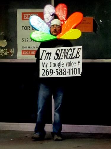 I'm SINGLE - My Google voice # 269-588-1101