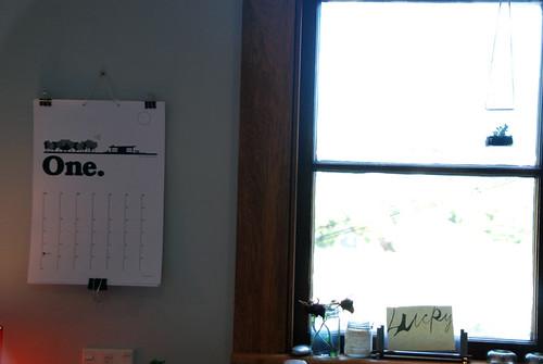My calendar for 2011
