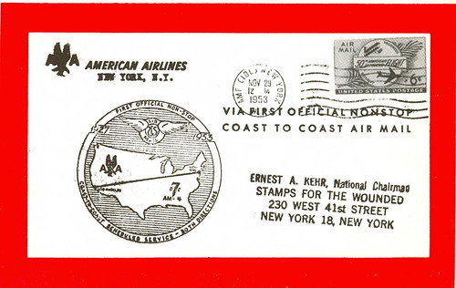Stamp Collecting - air mail