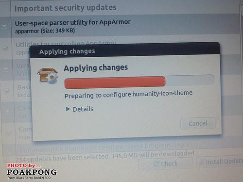 X100e Ubuntu Software Update
