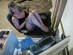 Picture 1034 (~~im_Danielle2~~) Tags: stockings vintage daddy cam gifts bbc tranny showing ts nylon transsexual sunmissive snemale
