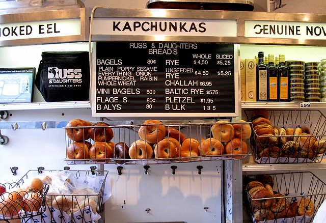 Russ & Daughters Bagels