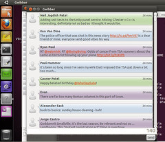 Ubuntu Natty GWibber (development)