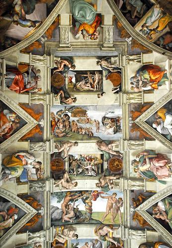 Italy-3219 - Noah (the flood) - Adam and Eve (forbidden fruit)