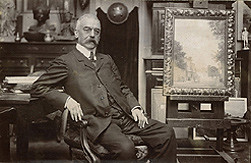 Eugène Samuel Grasset (photo by Nadar)