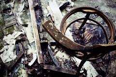 empty. (smoking_blue) Tags: abandoned broken chair decay dirt sedia abbandono silvie smokingblue
