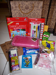 Rumah Hope stationery bag for Under 12