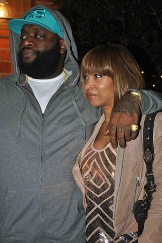 VIDEO Rick Ross Wining and Dining Elise Neal