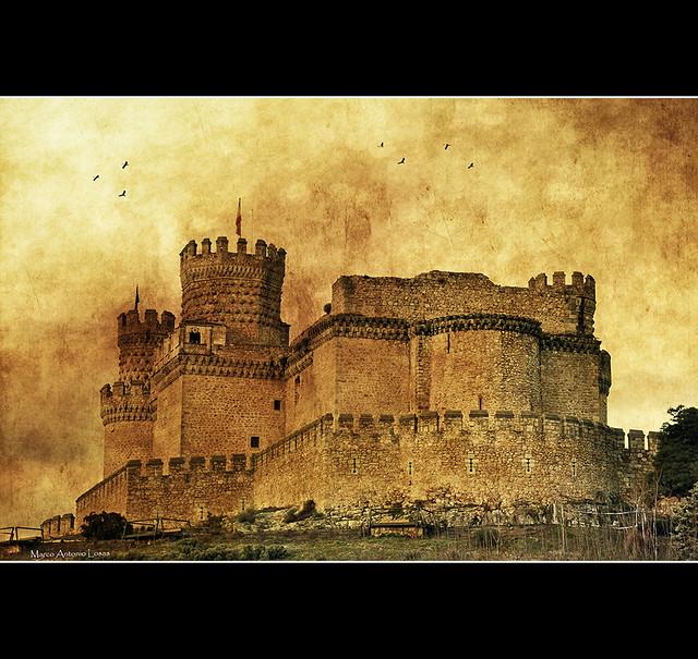 Castillo de Manzanares el Real - (Serie) Castle of Manzanares el Real