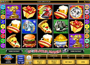 Worldcup Mania slot game online review