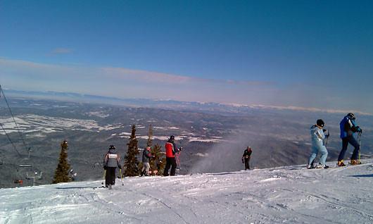 Petite journée snowboard sympa à Borovets