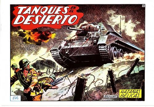 025-Hazañas Belicas- años 50-portada