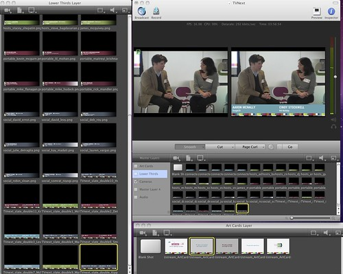 Wirecast 4 Screenshot from #TVnext #GoogleTV