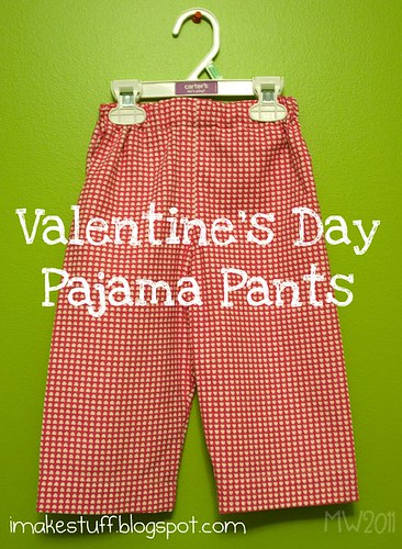 Valentine's Day Pajama Pants