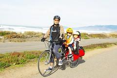 All in the family (j@ys0n) Tags: family two bike bicycle kids children cycling long stroller cargo biking longtail cargobike xtracycle longbike
