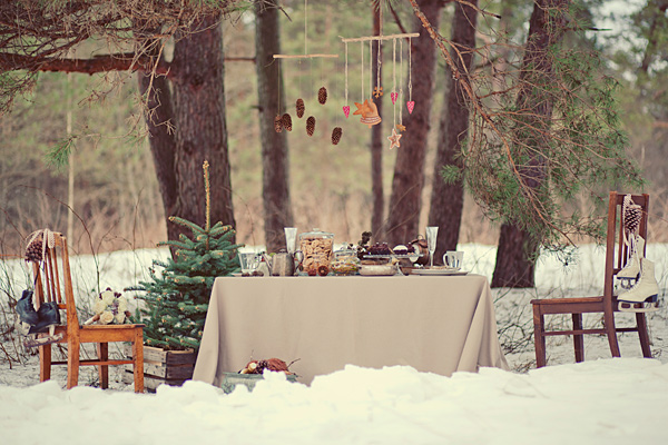 Vintage Winter Wedding