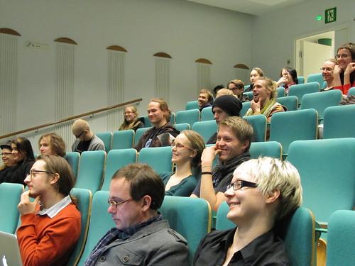 Yleisöä